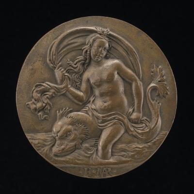 Image for A Nymph on a Dolphin