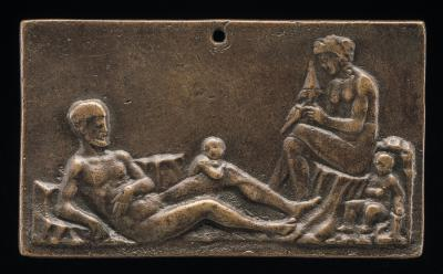 Image for A Family Scene (Adam & Eve)