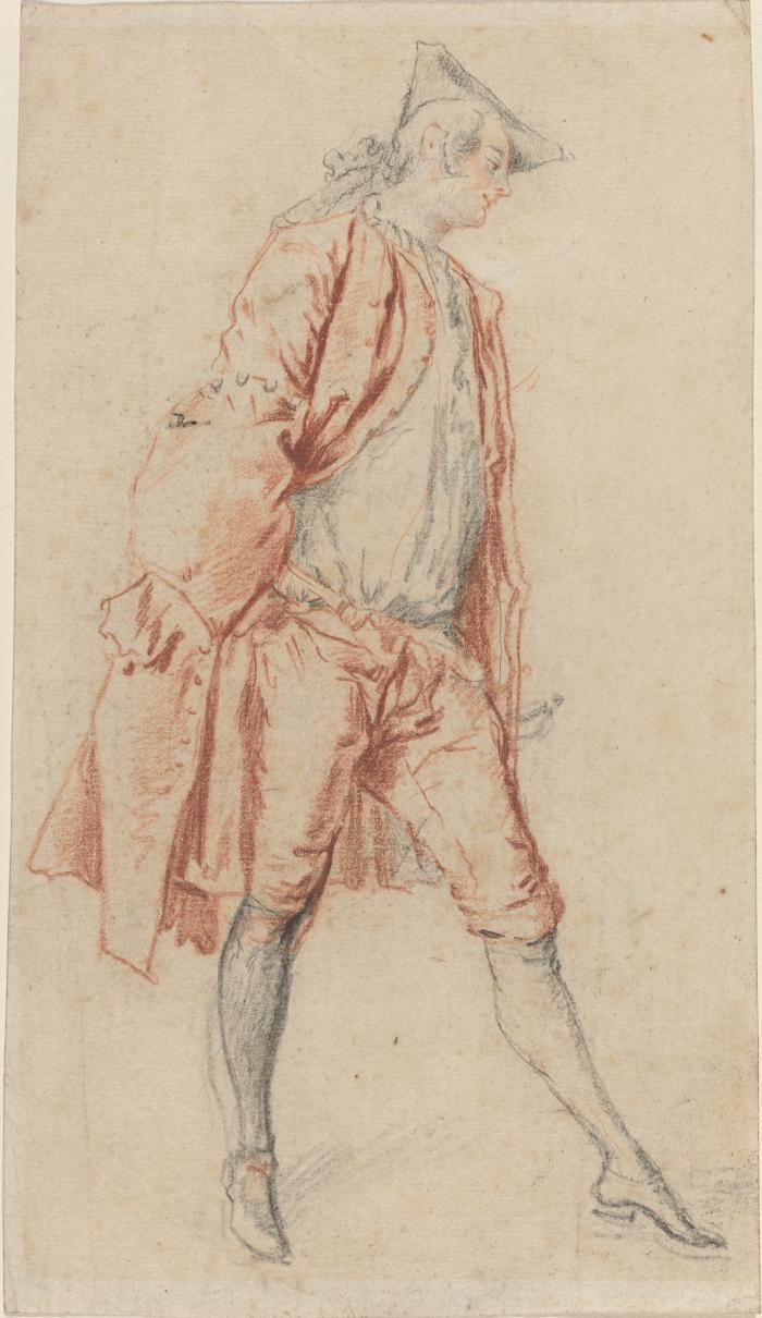 Image for A French Gentleman Standing