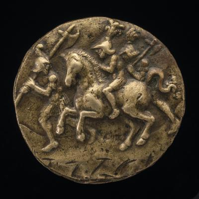 Image for A Horseman and Two Soldiers