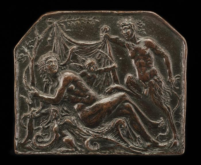 Image for A Satyr Uncovering a Nymph