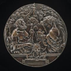 Image for A Satyr and a Bacchante (Allegory of Reproduction)