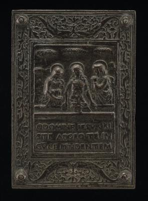 Image for The Dead Christ between the Virgin and Saint John