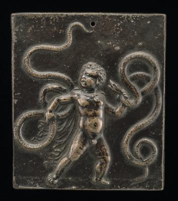 Image for The Infant Hercules Strangling the Serpents
