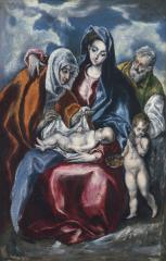 Image for The Holy Family with Saint Anne and the Infant John the Baptist