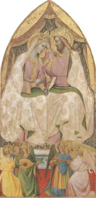 Image for The Coronation of the Virgin with Six Angels