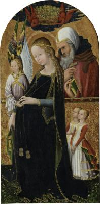 Image for The Expectant Madonna with Saint Joseph