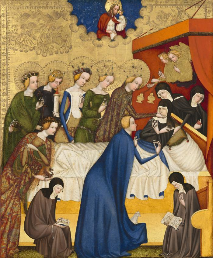 Image for The Death of Saint Clare