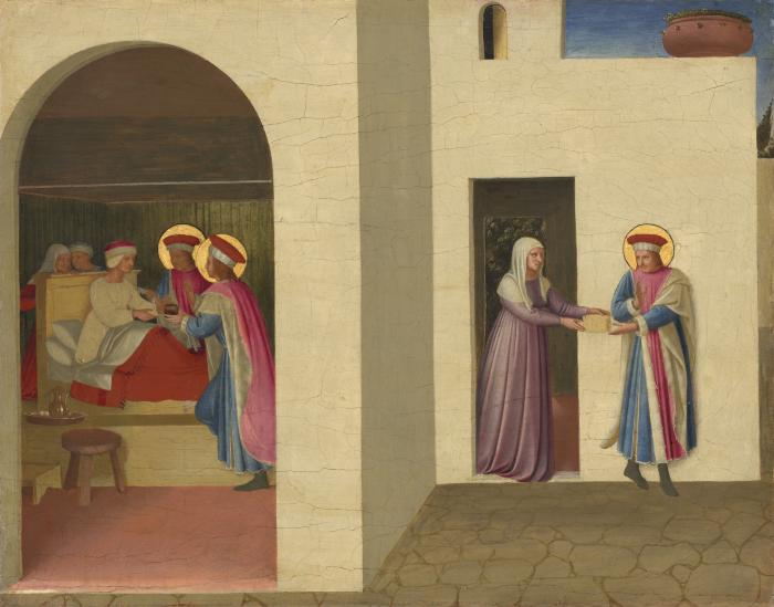 Image for The Healing of Palladia by Saint Cosmas and Saint Damian