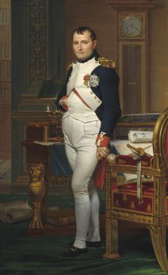 Image for The Emperor Napoleon in His Study at the Tuileries