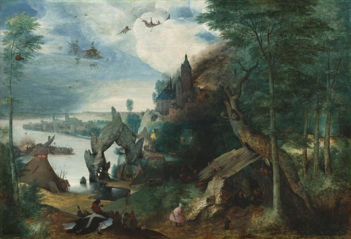 Image for The Temptation of Saint Anthony