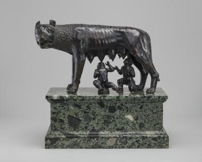 Image for The Capitoline Wolf Suckling Romulus and Remus