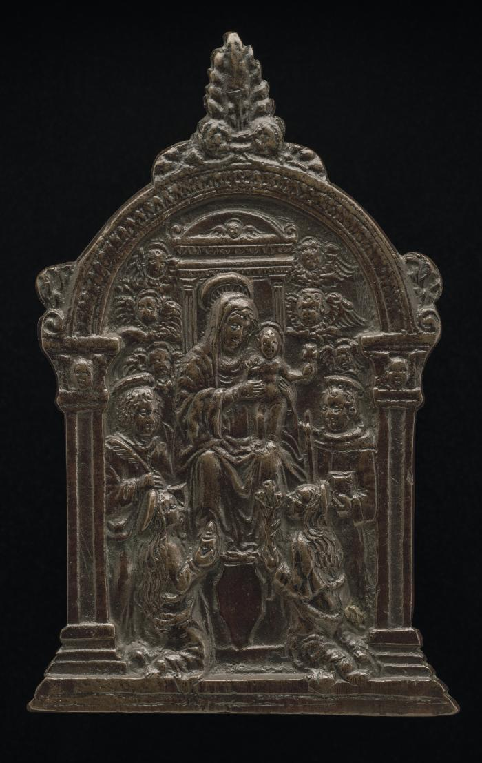 Image for The Virgin and Child with Four Saints