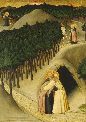 Image for The Meeting of Saint Anthony and Saint Paul
