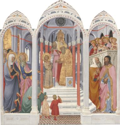 Image for The Presentation of the Virgin in the Temple