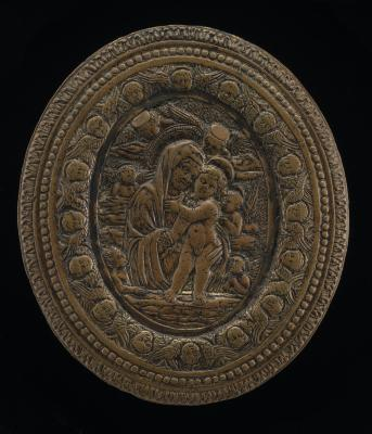 Image for The Virgin and Child with Six Angels