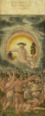 Image for The Rule of Bacchus [left panel]