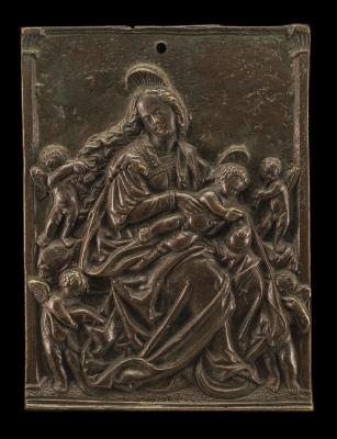 Image for The Virgin & Child with Four Angels