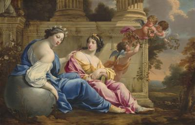 Image for The Muses Urania and Calliope