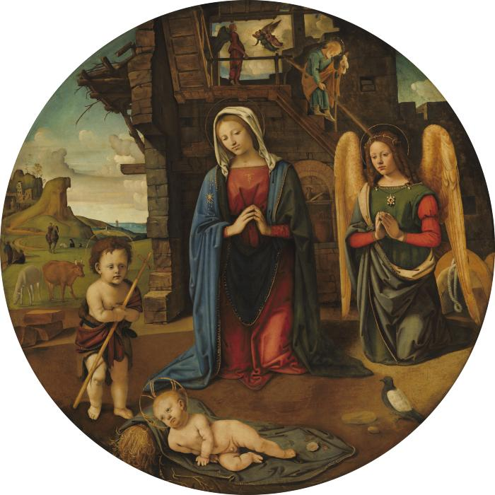 Image for The Nativity with the Infant Saint John