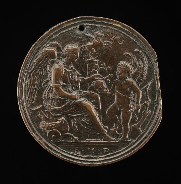 Image for An Allegorical Scene (Fame & Eros)