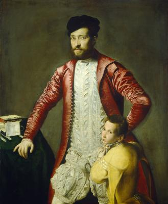 Image for Alessandro Alberti with a Page