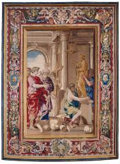 Image for Tapestry showing Constantine Ordering the Destruction of Pagan Idols