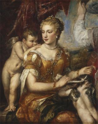 Image for Venus Blindfolding Cupid