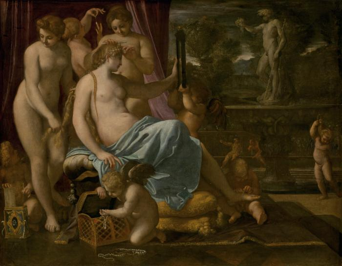 Image for Venus Adorned by the Graces