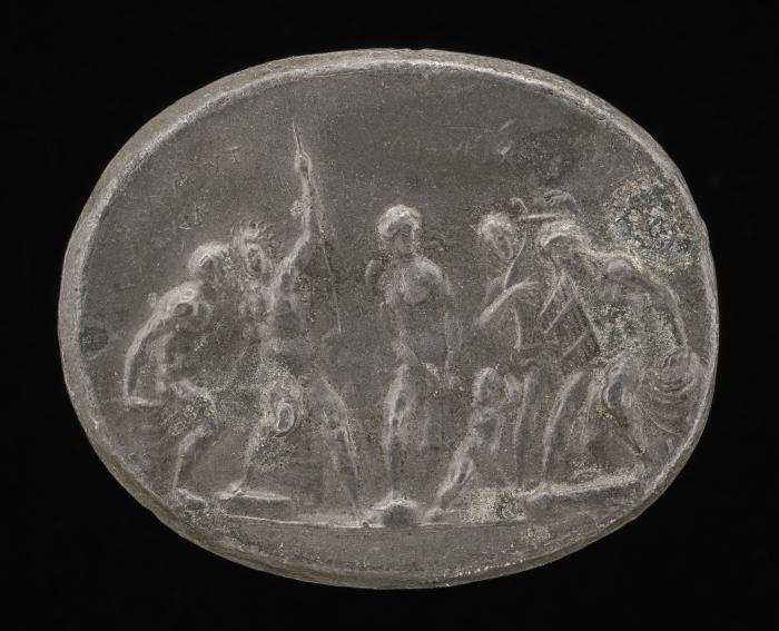 Image for Venus and Cupid with Other Gods