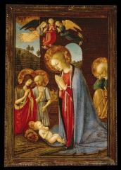 Image for Adoration of the Child with Saints