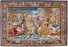 Image for Tapestry showing the Sea Battle between the Fleets of Constantine and Licinius