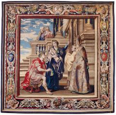 Image for Tapestry showing Constantine Worshiping the True Cross, Indicated by Saint Helena