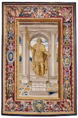 Image for Tapestry showing the Statue of Constantine
