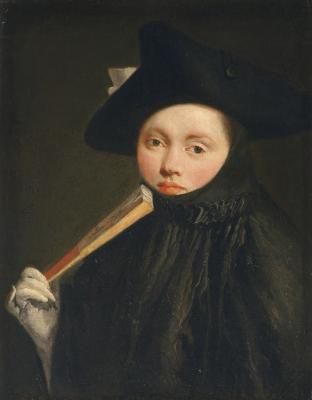 Image for Young Lady in a Tricorn Hat
