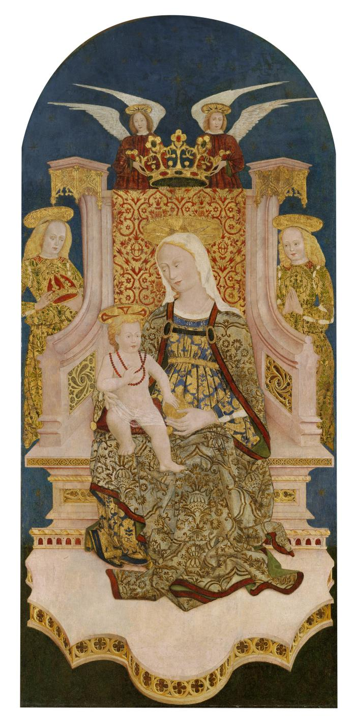 Image for Madonna and Christ Child Enthroned with Angels