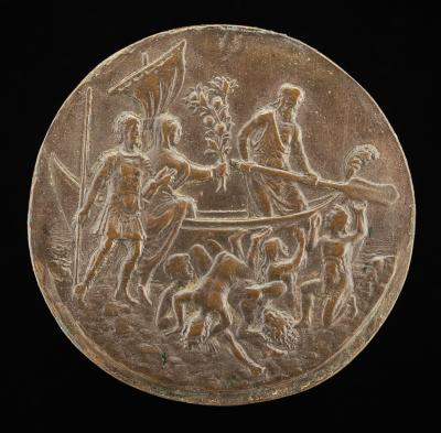 Image for Aeneas Descending to the Underworld