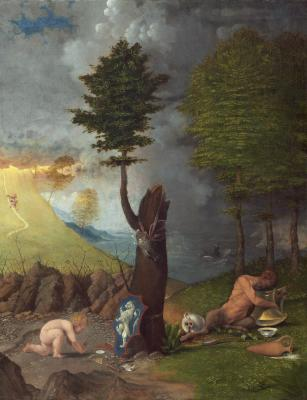 Image for Allegory of Virtue and Vice
