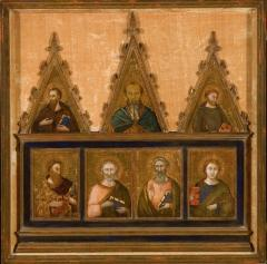 Image for Seven Saints (Pieces from a dismembered altarpiece)