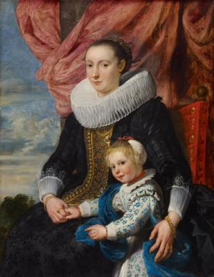 Image for Portrait of a Lady with Her Daughter