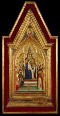 Image for The Enthroned Madonna