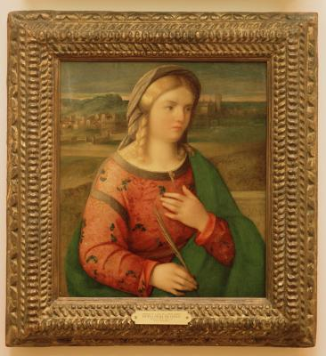 Image for Portrait of a Lady as a Virgin Martyr