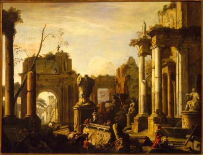 Image for Imaginary Scene with Ruins and Figures