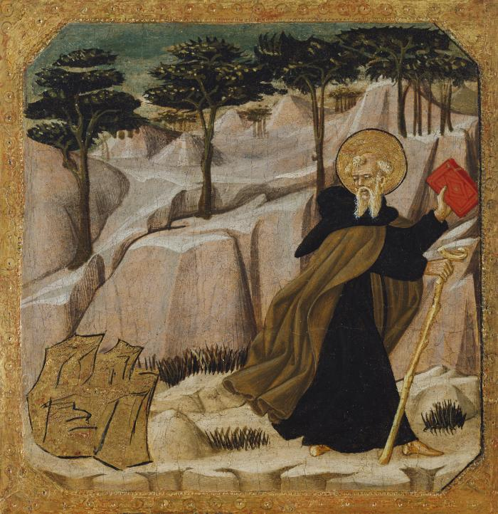 Image for Saint Anthony Abbot Tempted by Gold