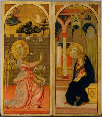 Image for The Annunciation [Left panel]