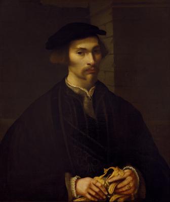 Image for Man Holding Gloves