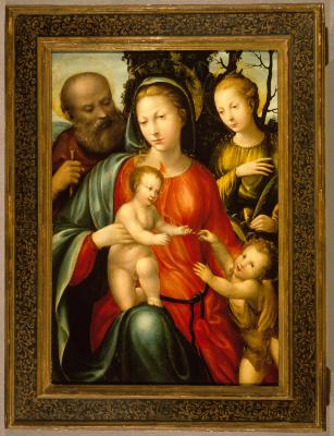 Image for Holy Family with Saints John and Catherine