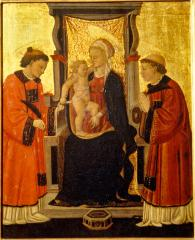 Image for Madonna and Child with Saints Stephen and Lawrence (Madonna and Child with St. Stephen and St. Lawrence?)