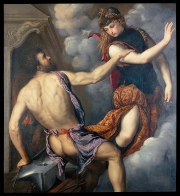 Image for Athena Scorning the Advances of Hephaestus