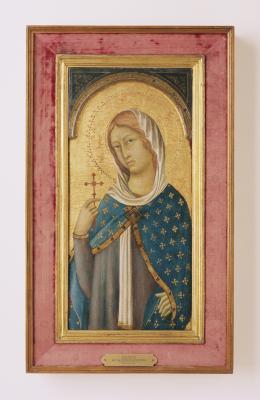 Image for Saint Margaret Holding the Cross